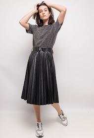 LUIZACCO pleated midi skirt