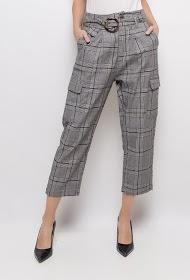 LUIZACCO check trousers