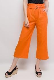 LUIZACCO pants with belt