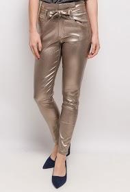 LUIZACCO calças brilhantes