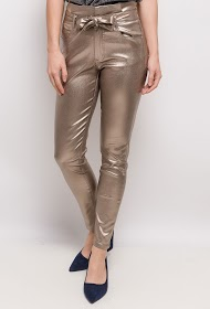 LUIZACCO shiny pants