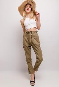 LUIZACCO pantalon carotte à pinces