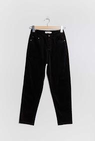 LUIZACCO pantalon en velours
