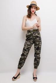 LUIZACCO cargo military trousers