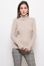 LUIZACCO shiny ribbed knit sweater