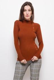 LUIZACCO rib knit sweater
