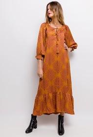 LUIZACCO robe longue imprimée
