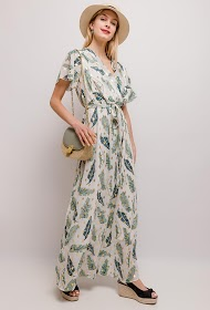 LUIZACCO robe longue tropicale