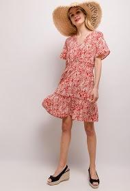 LUIZACCO robe patienuse imprimée