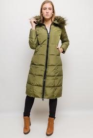 MACMAX long down jacket with fur
