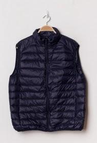 MACMAX sleeveless down jacket