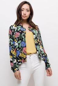 MADISON flowery bomber jacket
