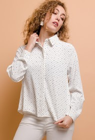 MADISON polka dot shirt