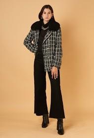 MADISON casaco de tweed