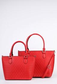 MAX & ENJOY tote bag sold in 2 pieces