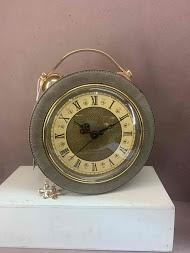 MAX & ENJOY pu clock handbag
