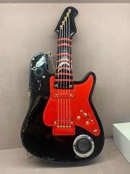 MAX & ENJOY guitar taske med radio og bluetooth