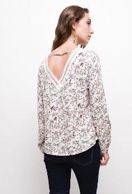 M&G MONOGRAM flower blouse