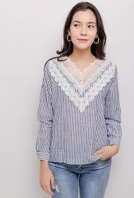 M&G MONOGRAM striped blouse