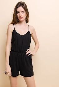M&G MONOGRAM playsuit with open back