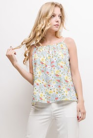 M&G MONOGRAM floral tank top