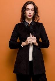 M&G MONOGRAM elegante abrigo doblado
