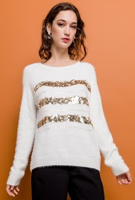 M&G MONOGRAM suéter a rayas