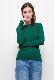 M&G MONOGRAM ribbed knit sweater