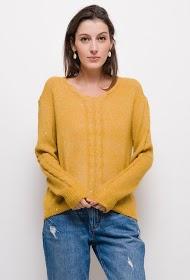 M&G MONOGRAM twist knit sweater