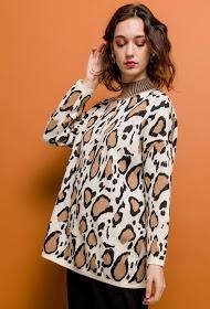 M&G MONOGRAM jersey de leopardo