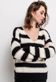 M&G MONOGRAM striped sweater