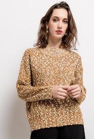 M&G MONOGRAM textured sweater