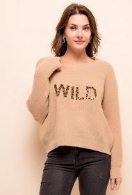M&G MONOGRAM wild sweater with sequins
