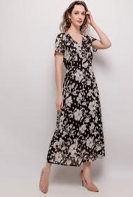 M&G MONOGRAM long floral dress