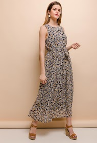 M&G MONOGRAM long floral dress