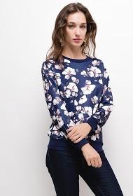 M&G MONOGRAM sweatshirt with printed flowers