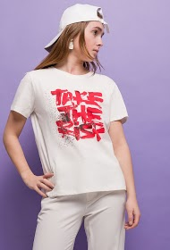 M&G MONOGRAM printed message t-shirt