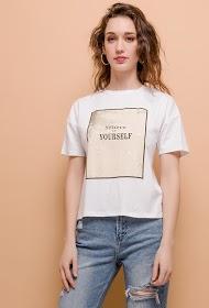 M&G MONOGRAM camiseta cree en ti mismo