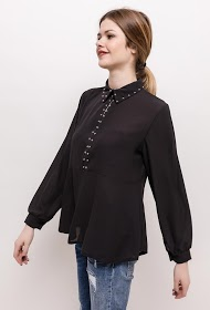 MILY blouse with studs