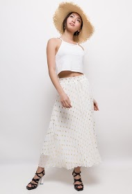 MISSKOO long pleated skirt