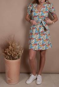 MISSKOO robe a fleur