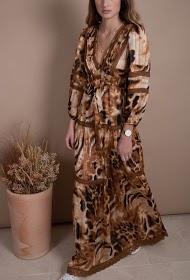 MISSKOO leopard dress