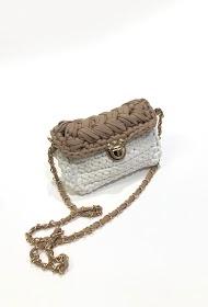 MISSKOO bolsa trançada artesanal