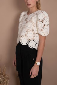 MISSKOO top en crochet