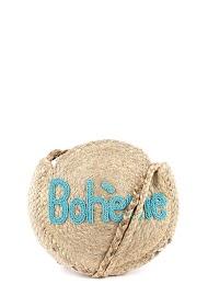 MOGANO small bohemian round bag