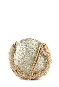 MOGANO kleine runde tasche im sonnenroststil