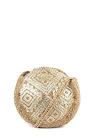 MOGANO small round bag style sun rust
