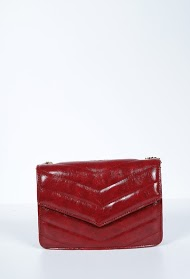MOGANO quilted bag, to be worn over the shoulder or over the shoulder