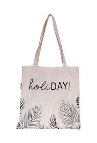 MOGANO tote bag with inscription