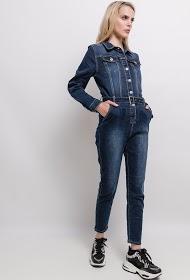 MONDAY PREMIUM macacão jeans